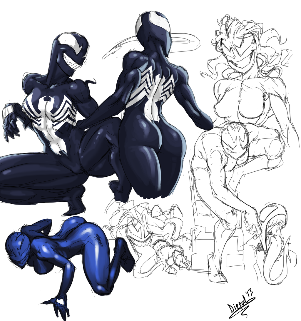 Gwen venom by shinlyle