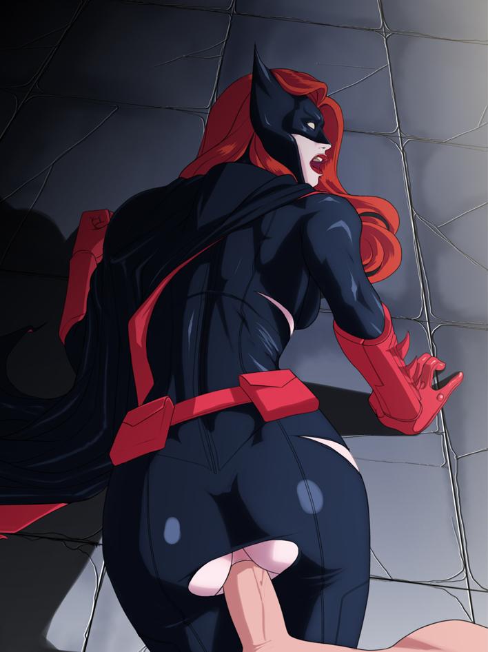 Batman tied up