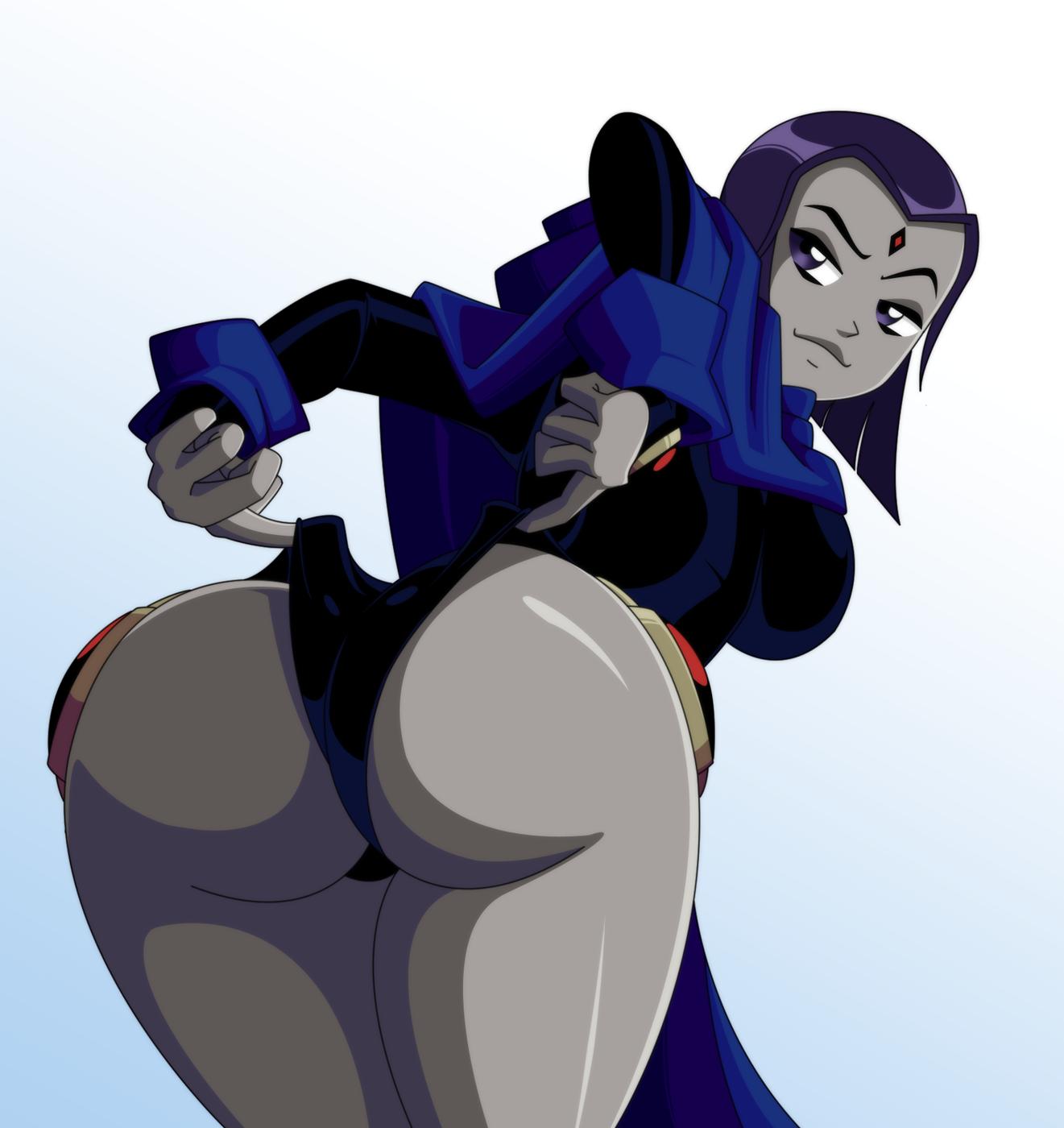 Teen titans raven tits