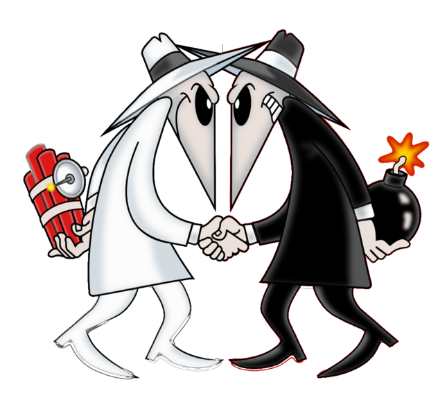Image result for spy vs spy cartoons