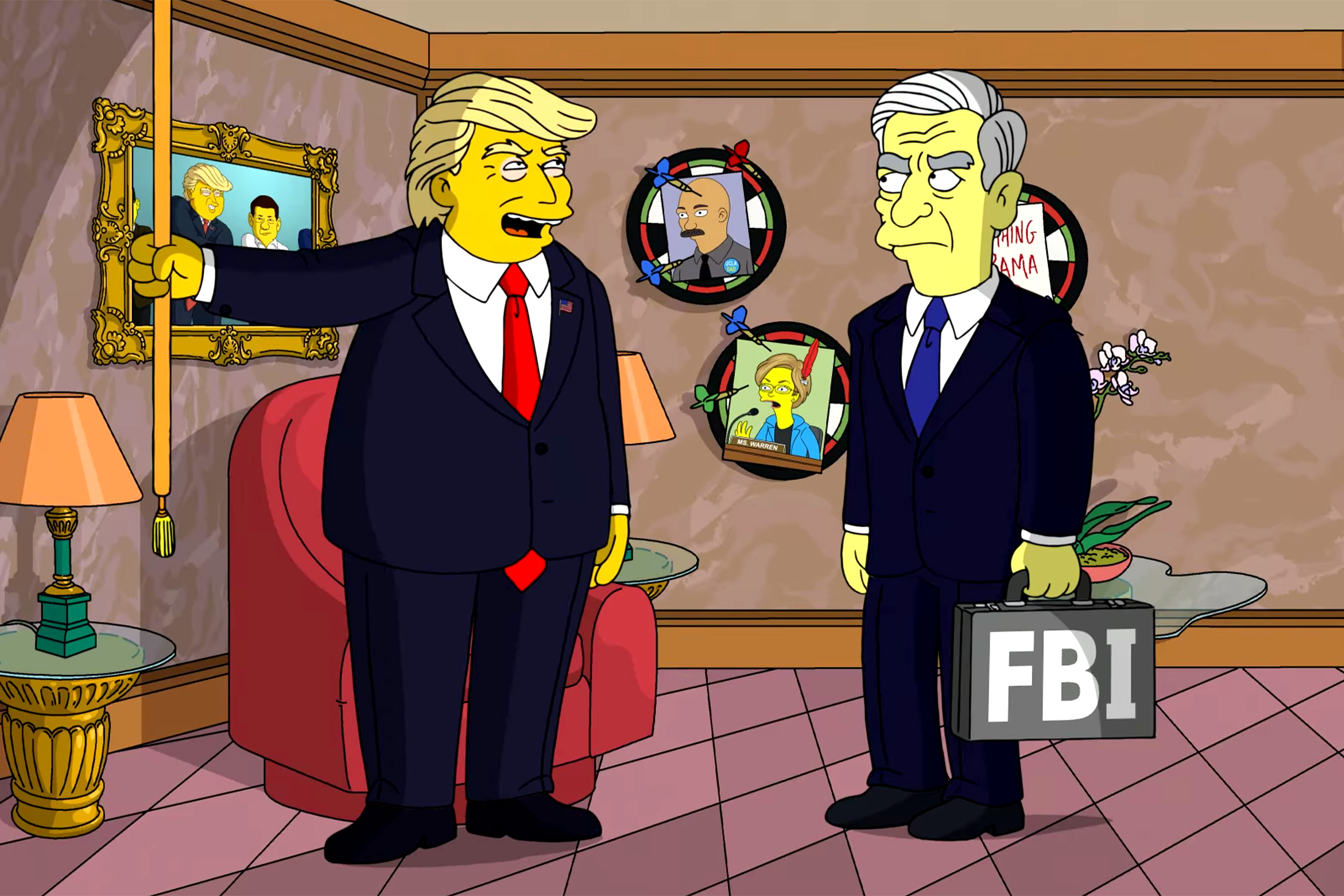 Симпсоны и трамп картинка