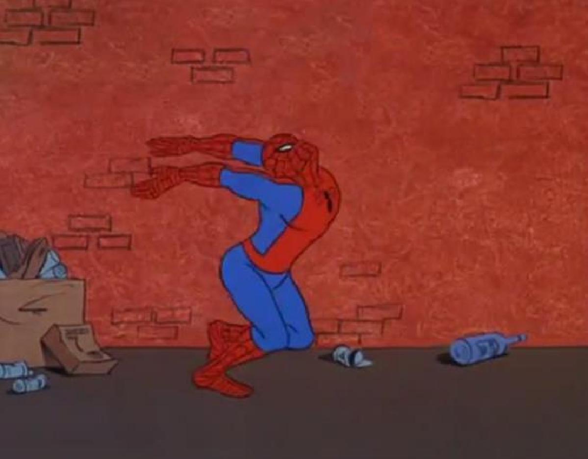Spiderman Meme Desk Wall Desk Shelf
