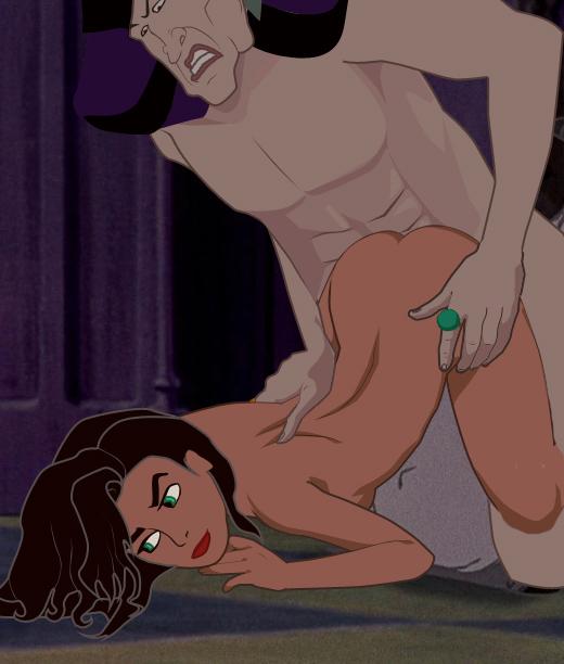 Фролло и эсмеральда порно