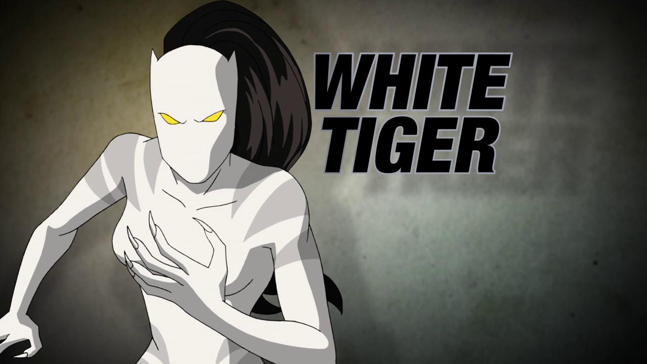 Картинки белая тигрица из человека паука