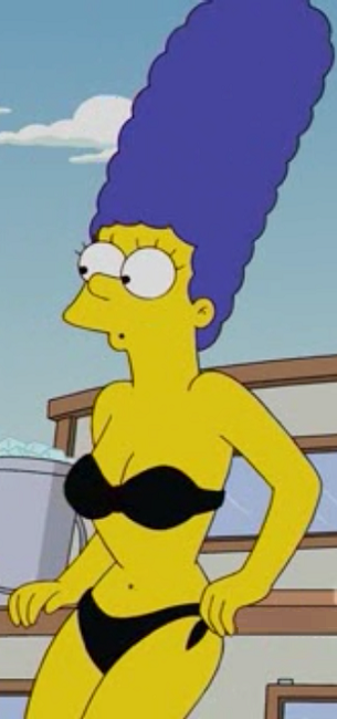 Margesimpson sexylady thesimpsons sticker by lol