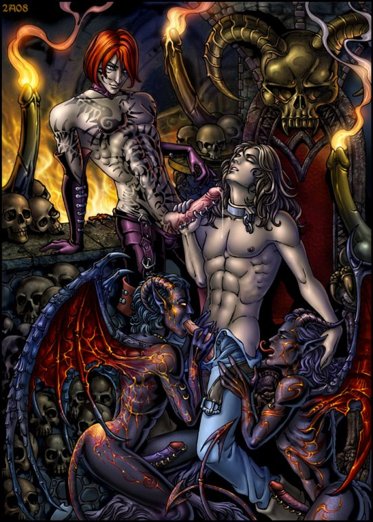 эро рассказ демон