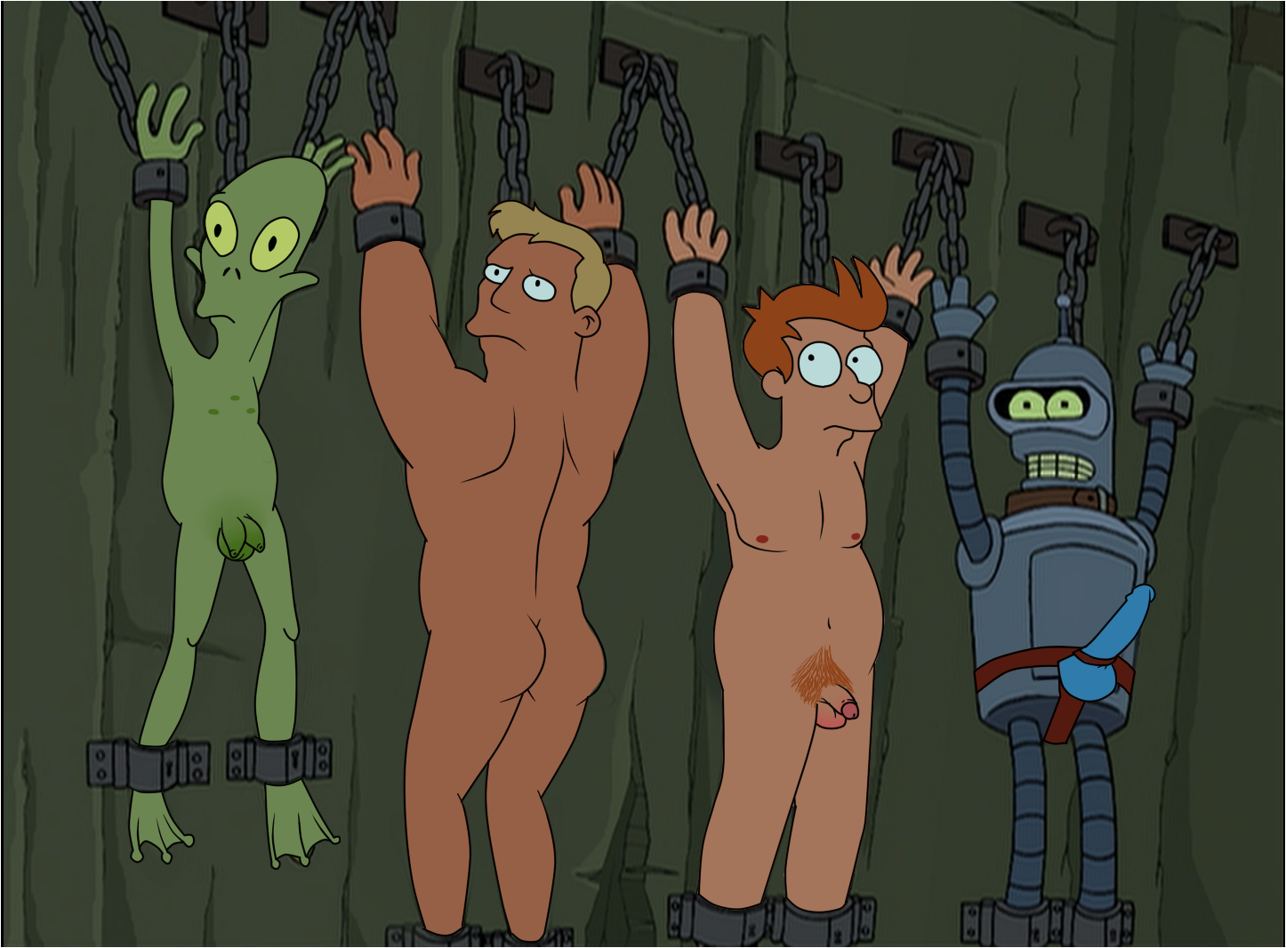 Free Gay Just Cartoon Dick S Futurama Porn