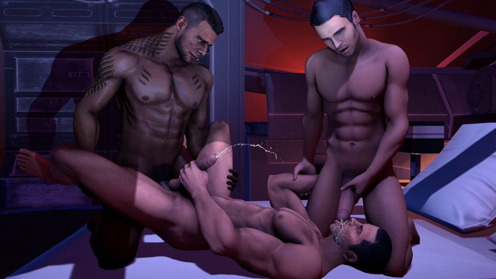 Gay porn nervous game