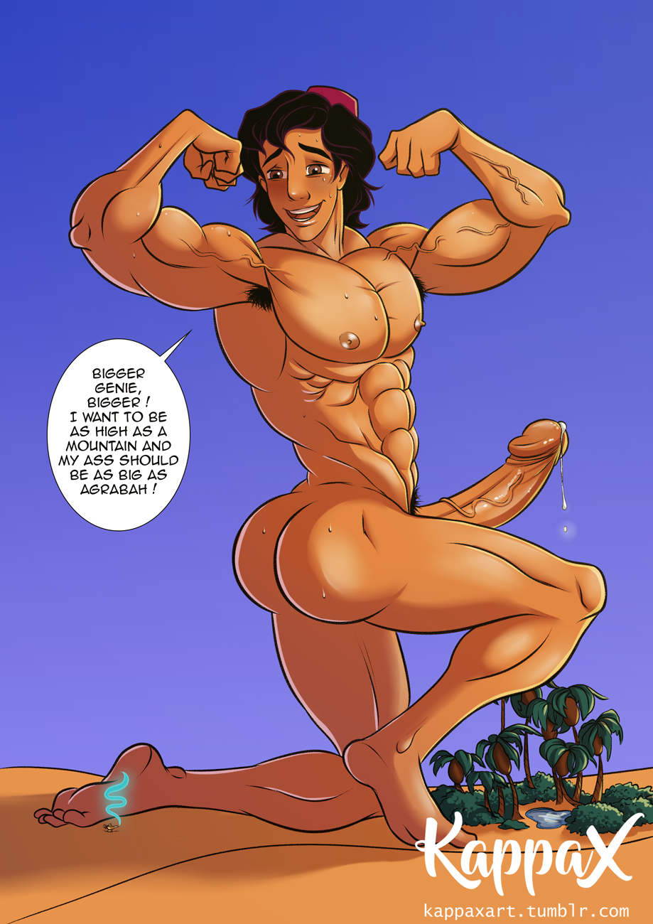 Aladdin gay cartoon porn comics hentai