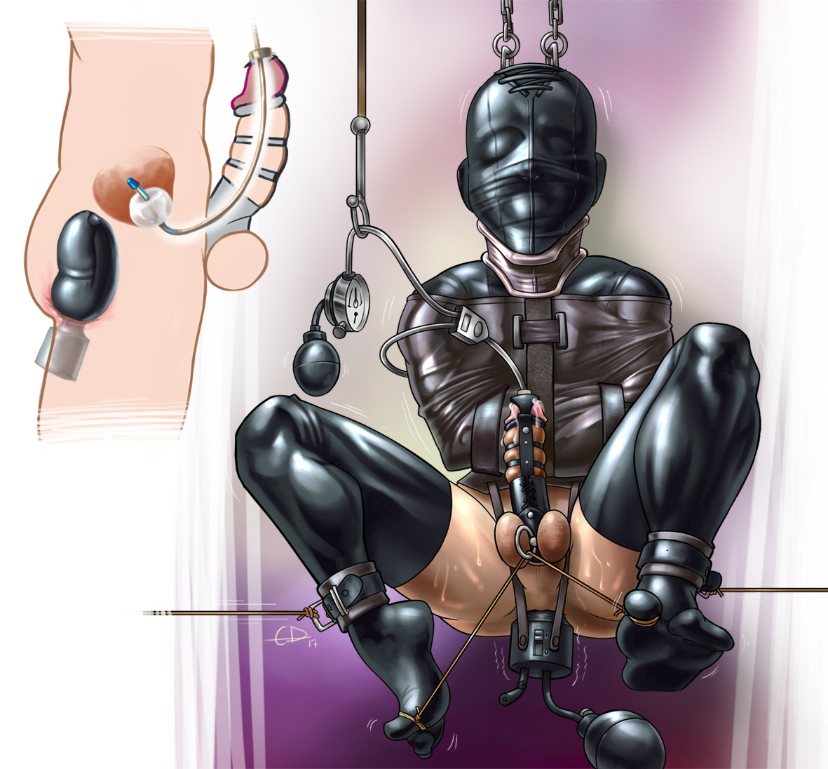Bald mistress strapon and fisitng domination to curly male male anal, amateur femdom download free fisting