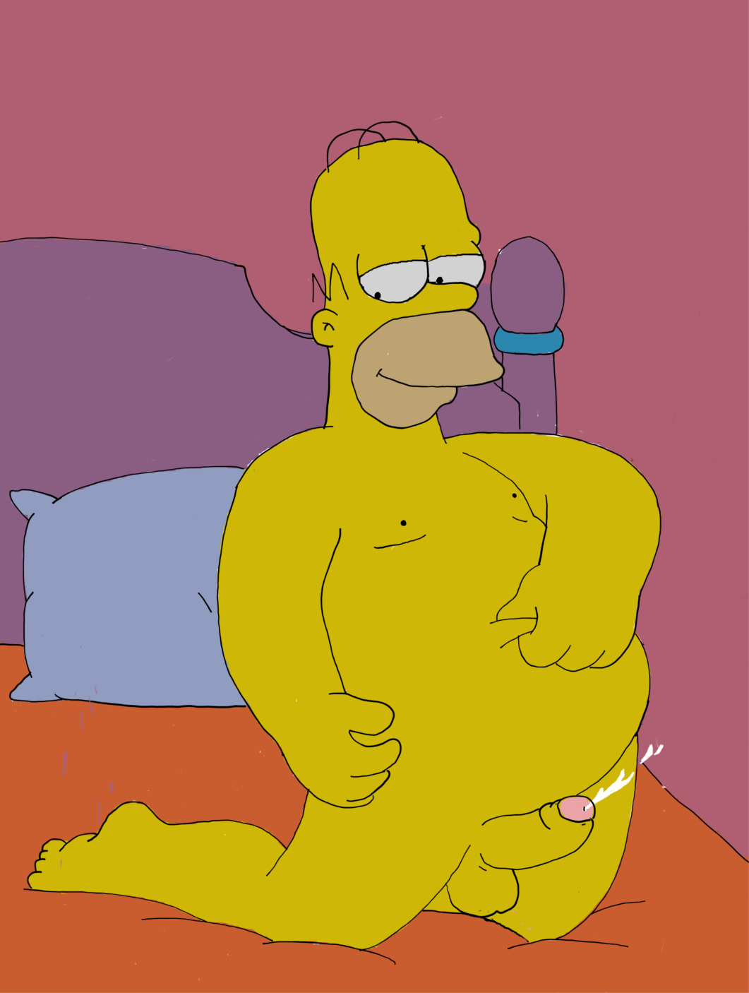 Marge Simpson Poses Naked For Playboy But What Would Lisa Think