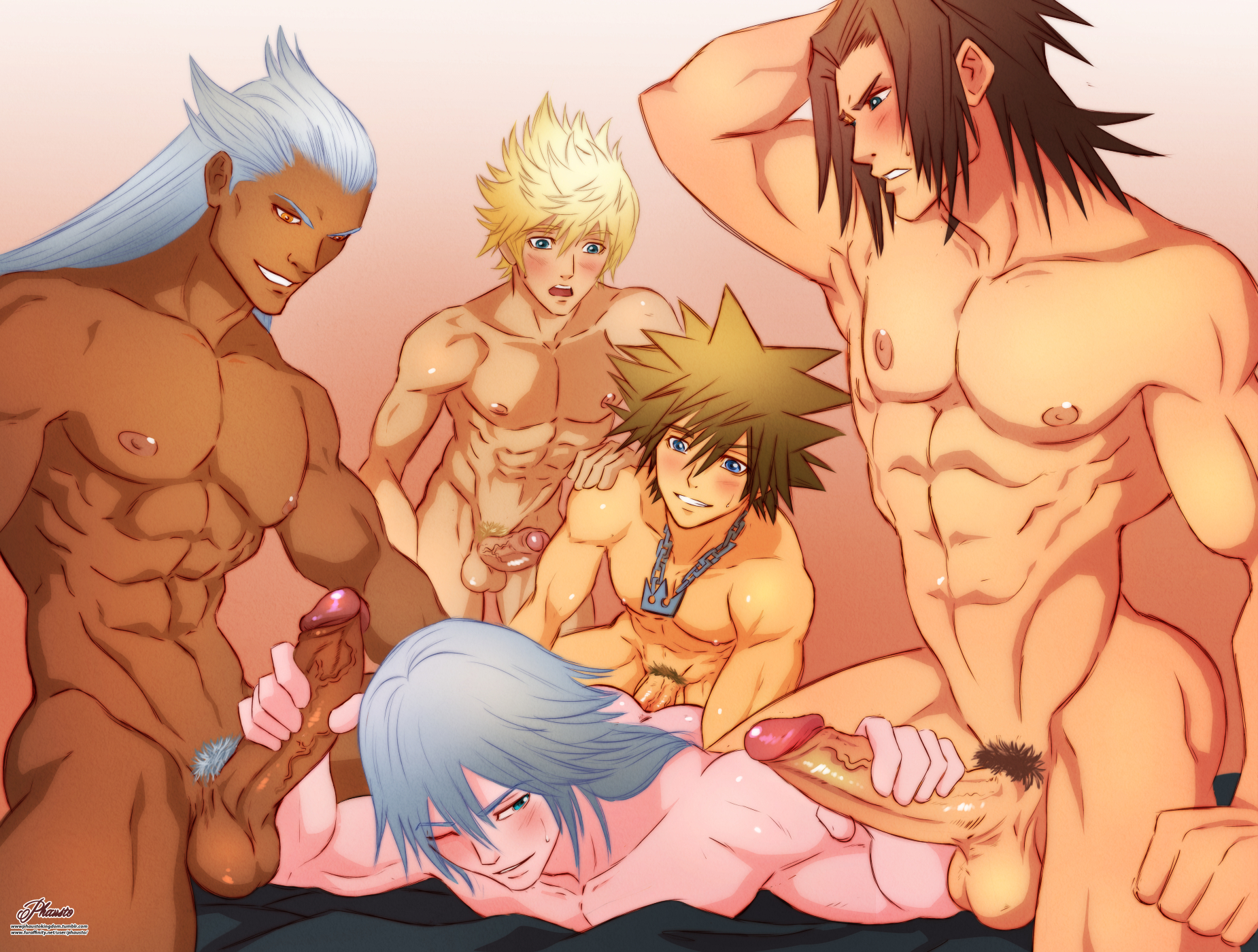 kingdom hearts gay porn