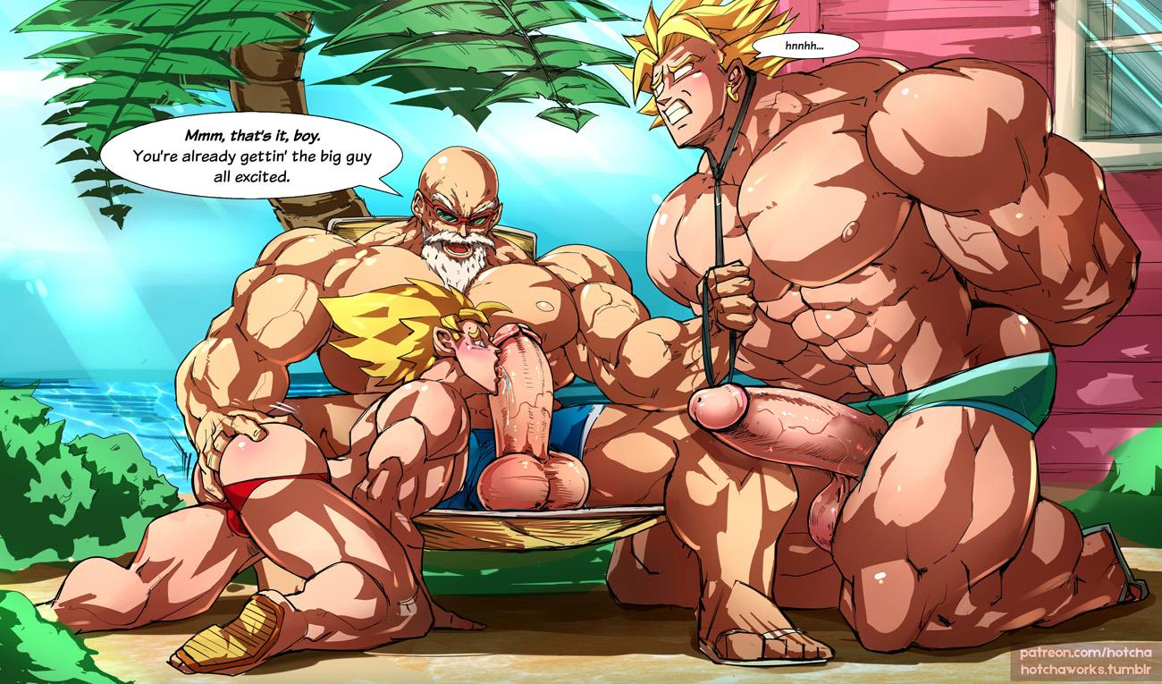 Dragon Ball Z Goku And Gohan Gay Yaoi
