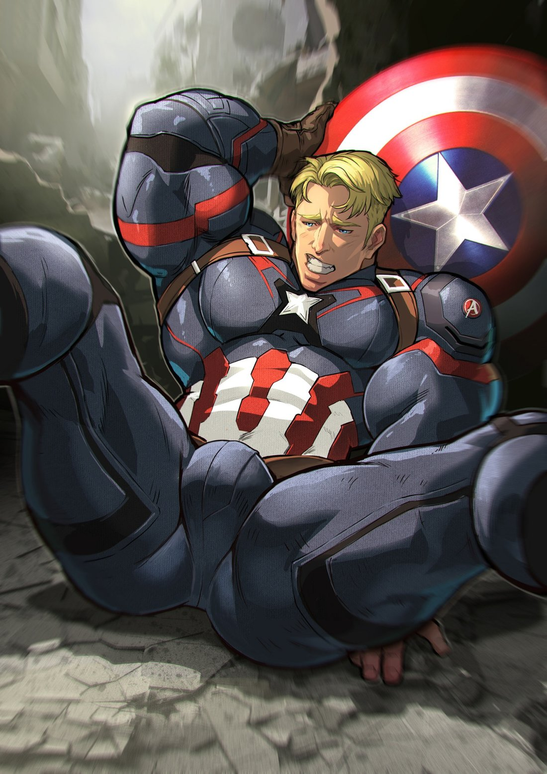 Captain america has america's best ass, according to endgame
