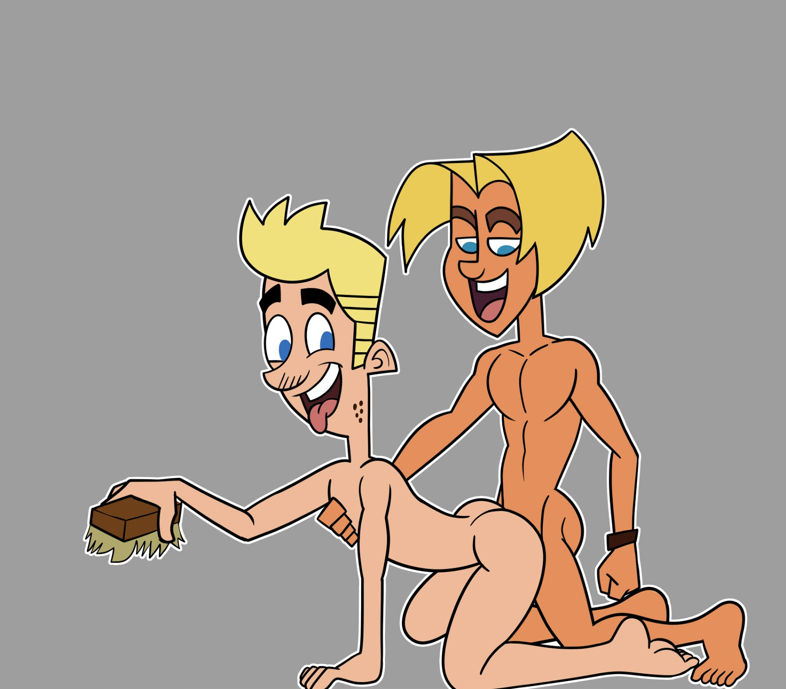 Johnny Test Sisters With Big Tits